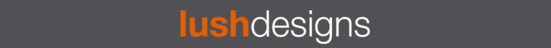 LushDesigns logotyp