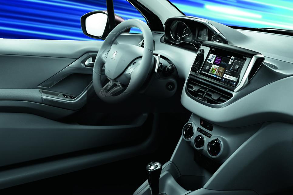 Peugeot 208, ETG şanzıman, ETG, Peugeot, kokpit