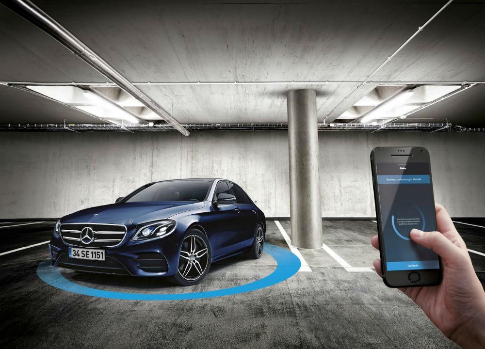 Mercedes E Serisi akıllı park