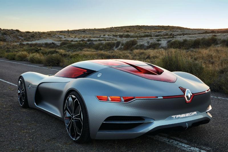 Renault Trezor Konsept modeli