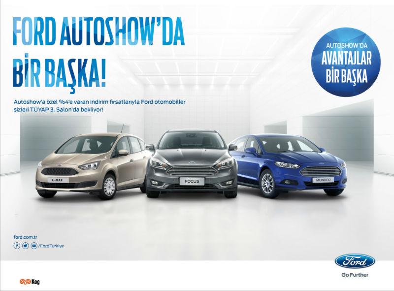 Ford kampanyası istanbul autoshow 2017