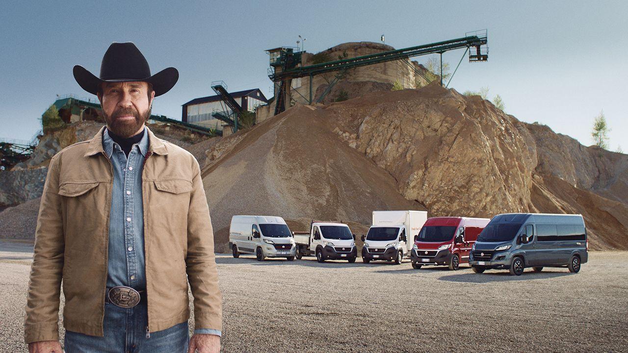 Chuck Norris ve Fiat reklam filmi