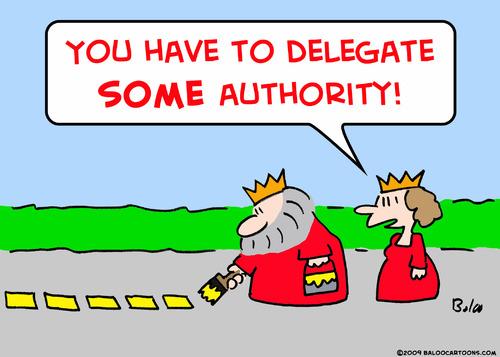 project management delegate