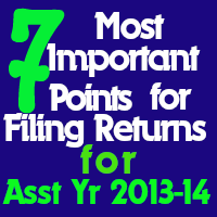 filing of return