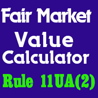 Calculator For Fair Market Value (FMV) for Share Premium Case !