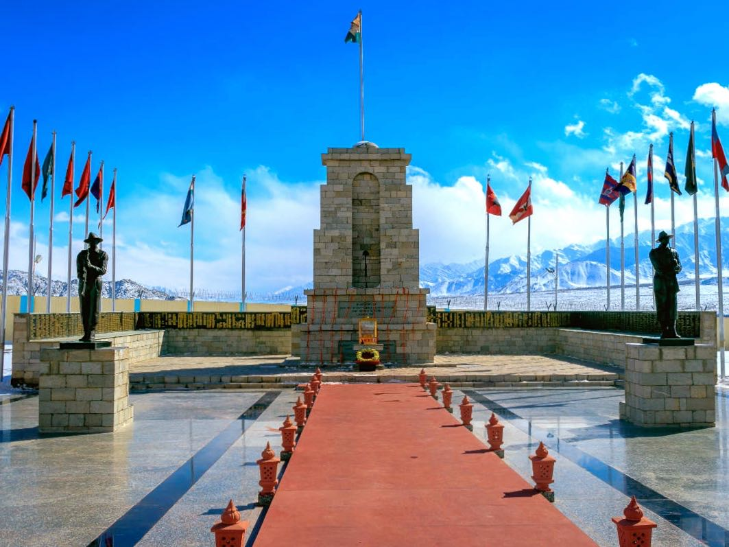 War Memorial in Leh in Leh