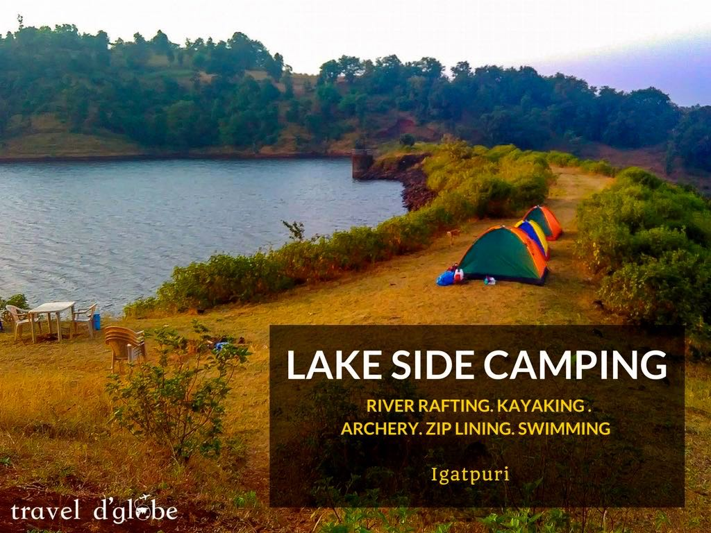 Lake Camping in Igatpuri with Adventures