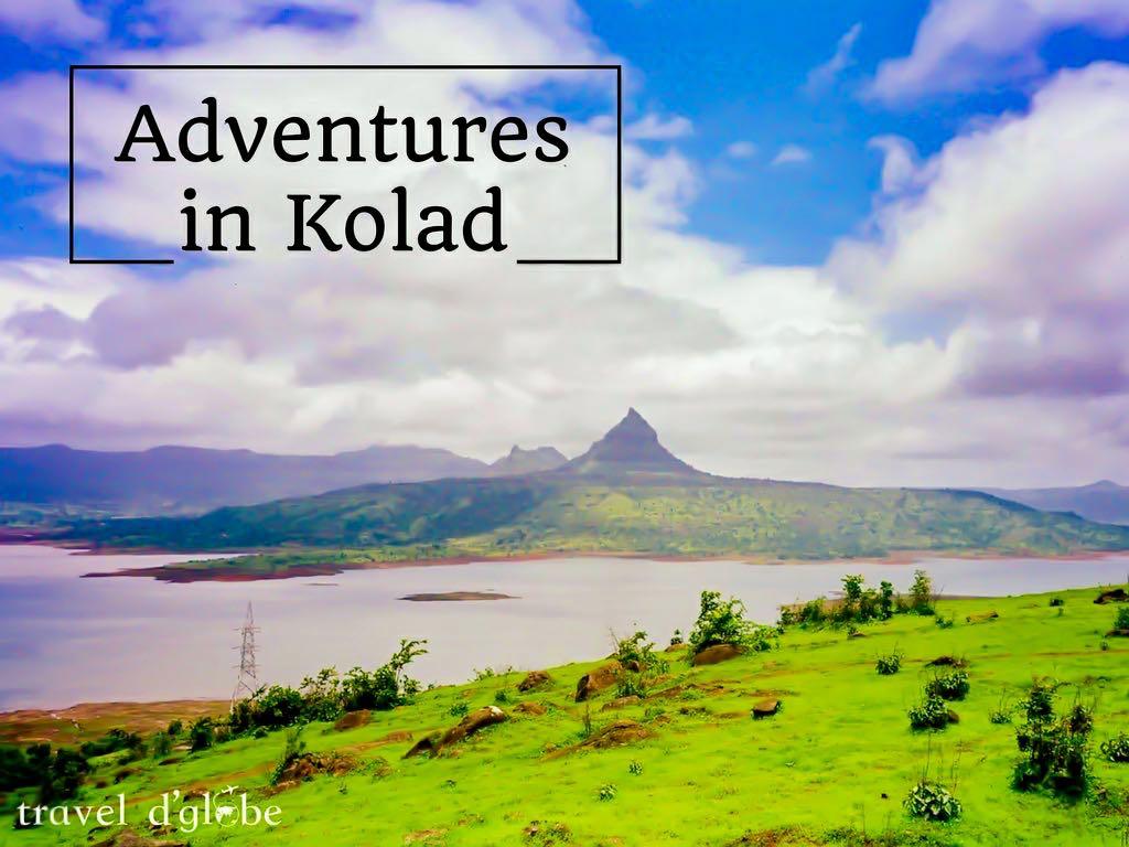 Kolad Rafting Adventures near Kundalika River
