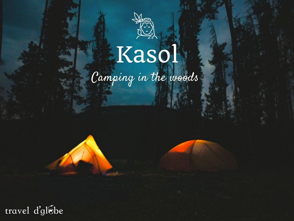 Camping in Kasol with Bonfire