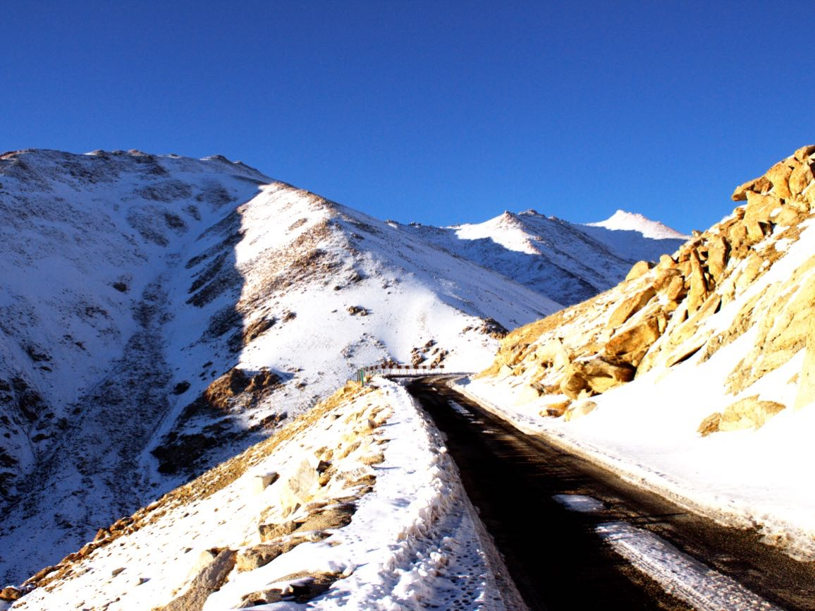 Chang La Pass in Leh