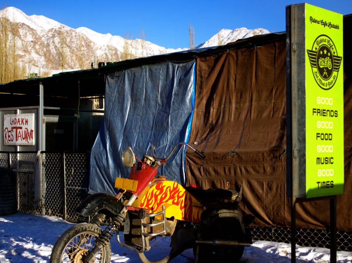 Rider's Cafe Leh in Leh