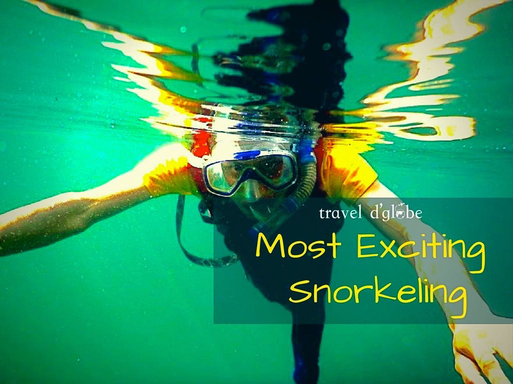 Snorkeling in Dawki, Umngot River