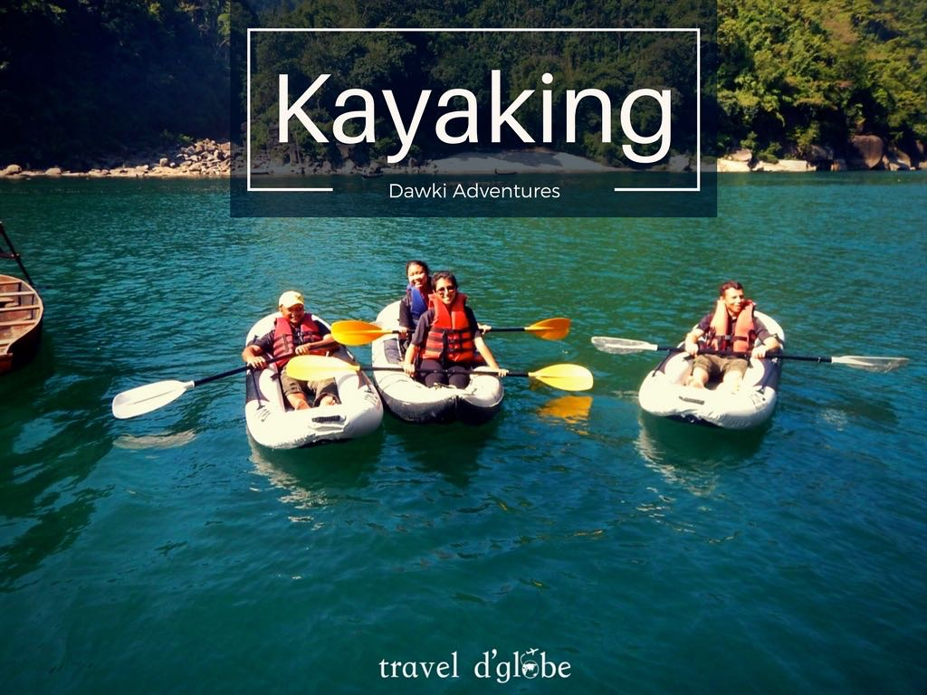 Kayaking in Dawki