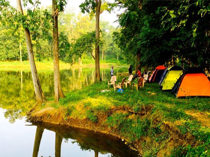 Camping in Dandeli