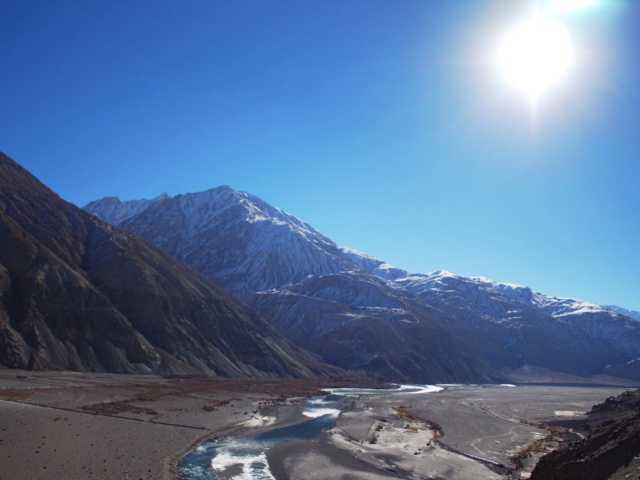 Shyok Valley at travel d'globe