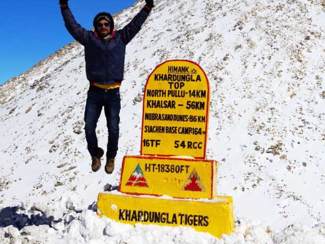 Image for Khardungla Pass at Leh