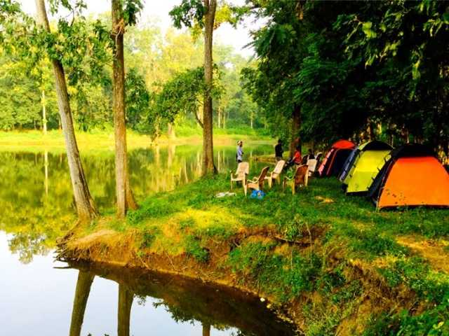 Camping in Dandeli at travel d'globe