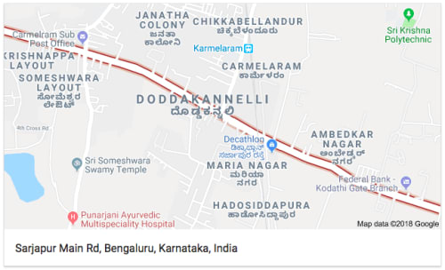Sarjapur Main Road, Bangalore