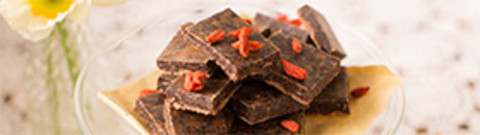 Wholefood Treat - Raw Cacao Nib Slice