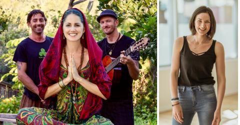 InYoga event: 'Sound of Prana' Yoga Flow with Dubarray & Amy G - 28 Sep 2017