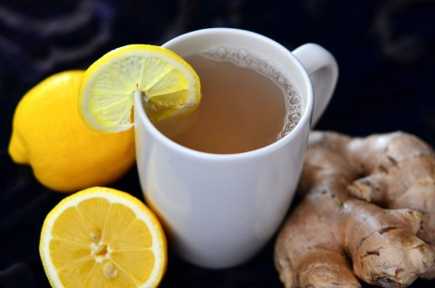 Winter Warmers - Fresh Ginger Tea