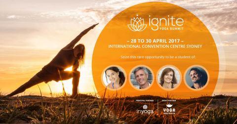 InYoga event: Ignite Yoga Summit - 28 Apr 2017