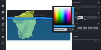 Vectr is an excellent free cross-platform graphics editor you can learn to use in minutes