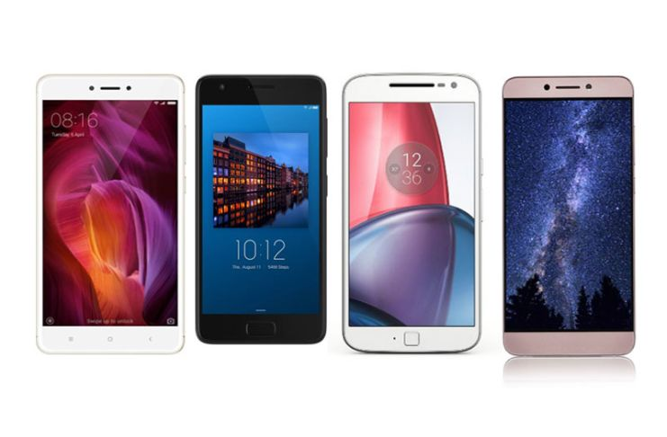 Xiaomi Redmi Note 4 Vs Lenovo Z2 Plus Vs Motorola Moto G4 Plus Vs LeEco Le 2 – Specs Comparison