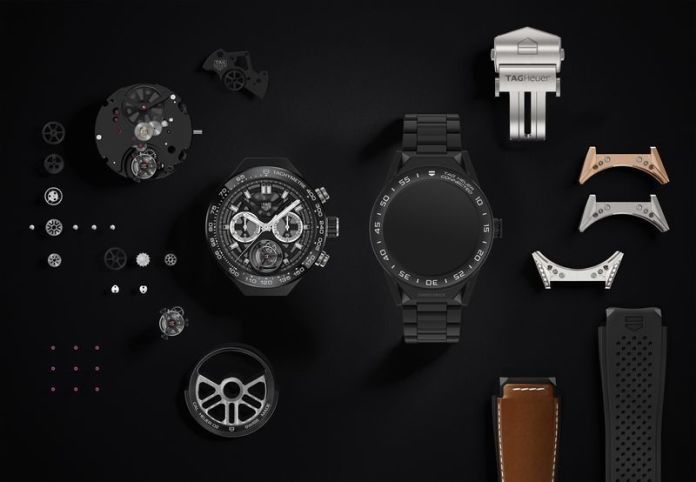 TAG Heuer Connected Modular 45 with Android Wear 2.0 smartwatch launched at $1,600