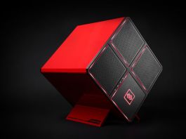 The HP OMEN X is a powerful gaming desktop with a modern, minimalist design