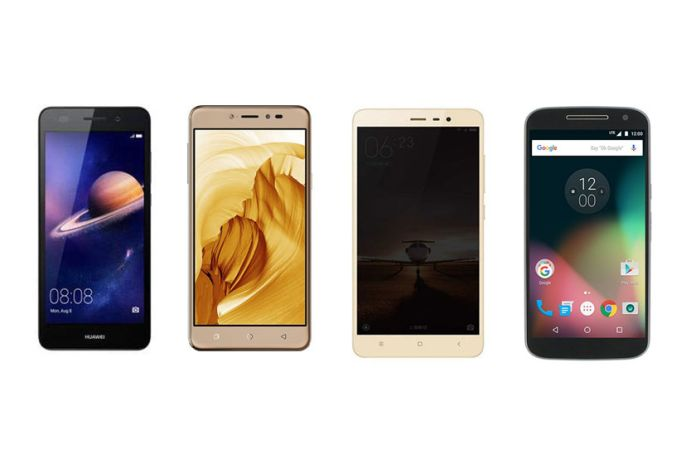 Huawei Honor Holly 3 vs Coolpad Note 3 vs Xiaomi Redmi Note 3 vs Motorola Moto G4 – Full Specs, Features and Price