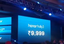 Huawei Honor Holly 3 launched in India – Full Specs, Price and More