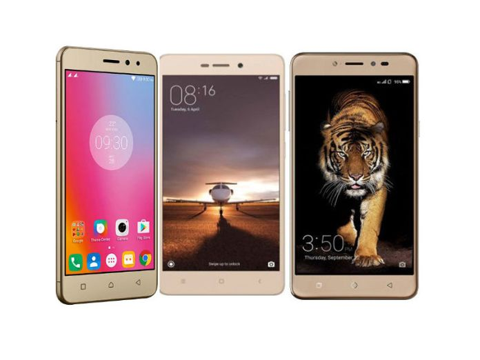 Lenovo K6 Power vs Xiaomi Redmi 3S Prime vs Coolpad Note 5: Specs battle