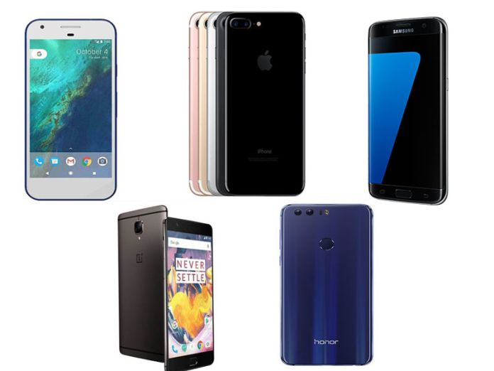 Here is the List of top 5 best Smartphones of 2016