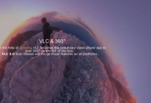 VLC media player adds support for 360-degree Videos and Photos