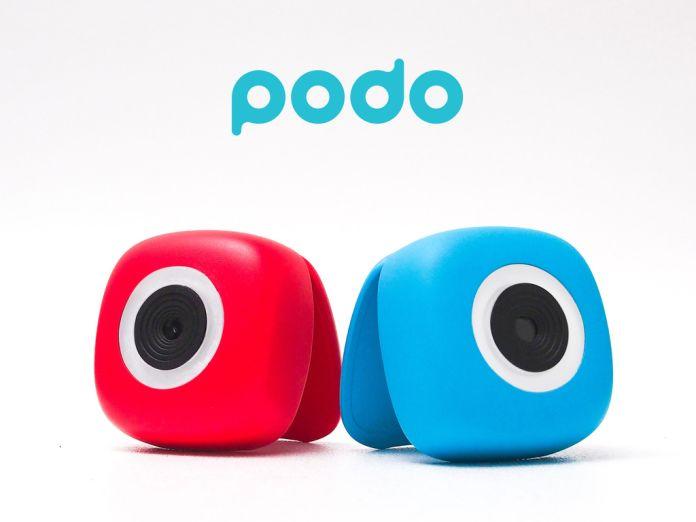 Podo Stick And Shoot Bluetooth Camera