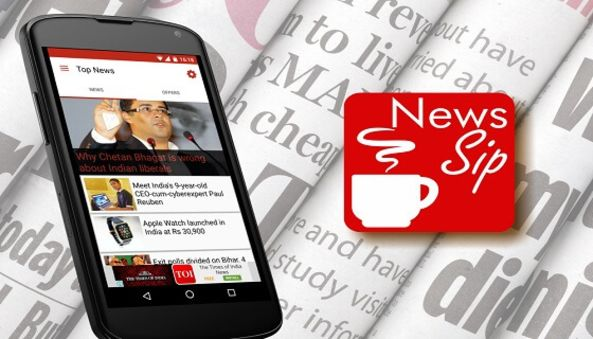 News sip online newspaper app , Technokriti Solutions LLP , mobile app , android app , ios app , agile development