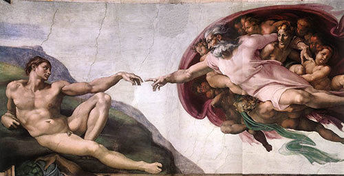 Michelangelo's The Creation of Adam