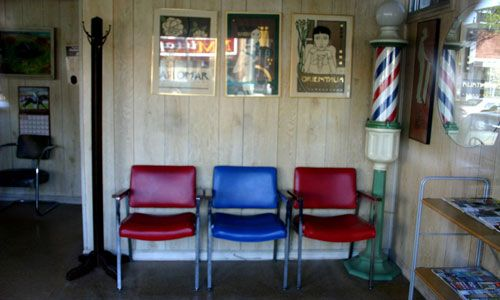 Barber shop seating