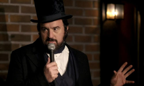 Louis CK as Lincoln