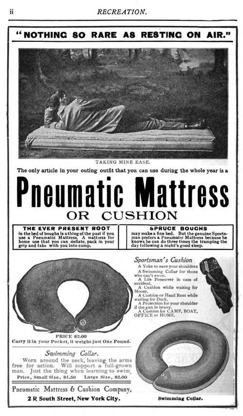 Pneumatic mattress