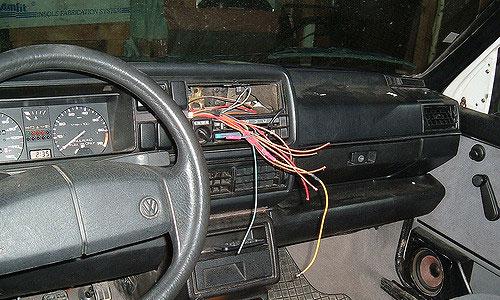 Car stereo stolen