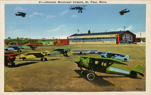 St. Paul municipal airport