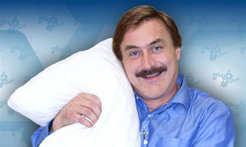My Pillow guy
