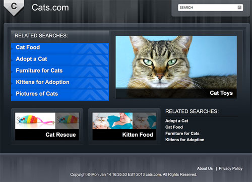Cats.com January 2013