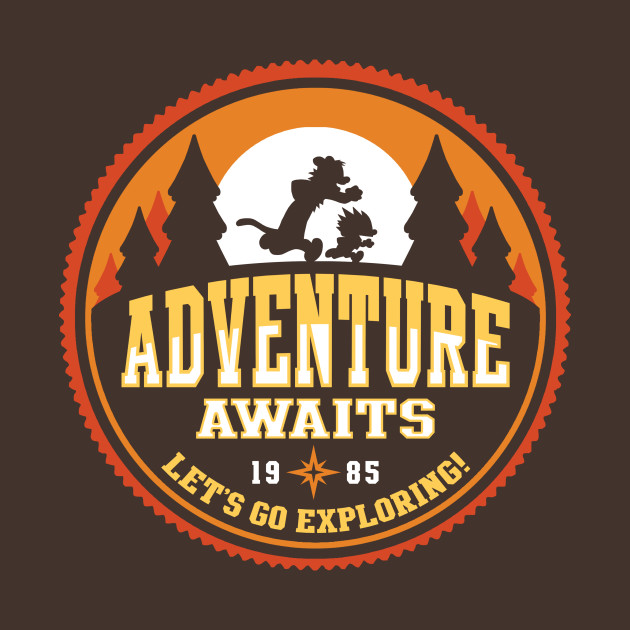 Adventure Awaits T-Shirt thumbnail