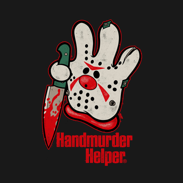 Handmurder Helper T-Shirt thumbnail