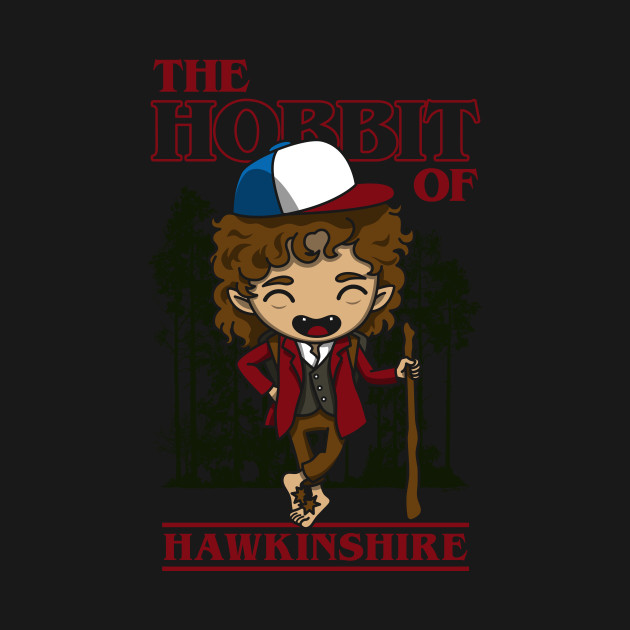 The Hobbit Of Hawkinshire T-Shirt thumbnail