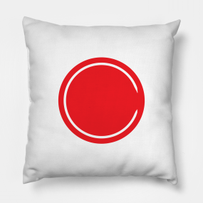 Riverdale Red Circle Archie Pillow