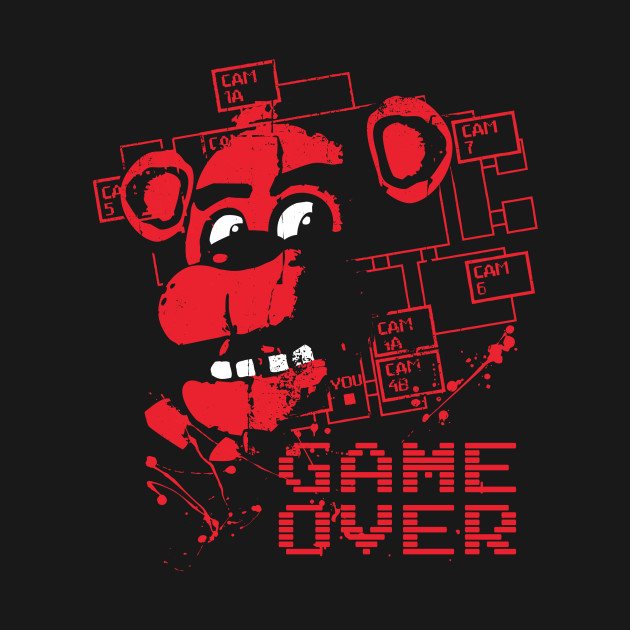 Five Nights At Freddy's Game Over T-Shirt thumbnail